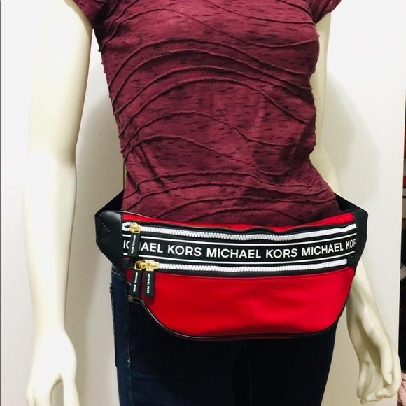Michael Kors Handbags - NWT Michael Kors Kenly Waist Pack Crossbody Bag